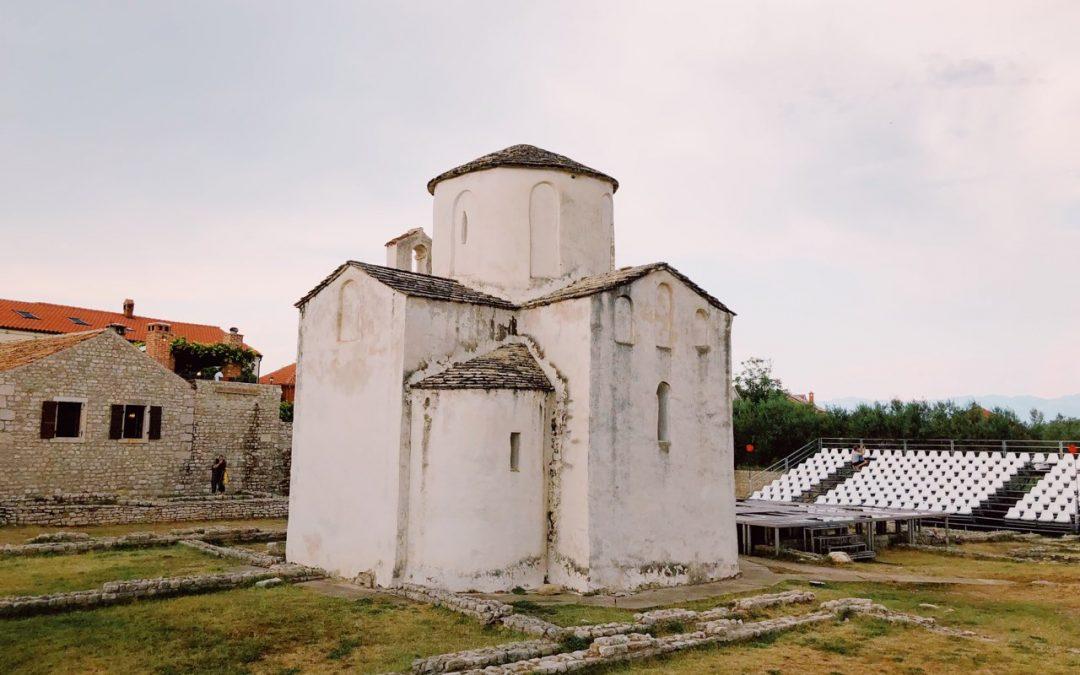 The royal city of Nin in Croatia