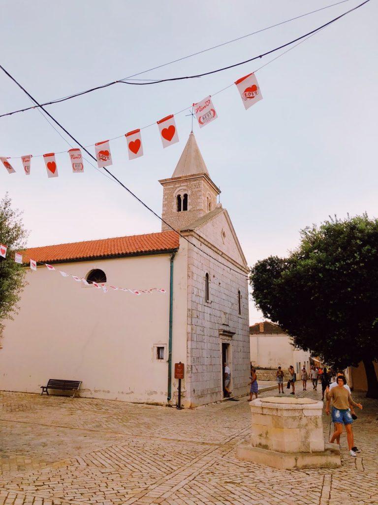 The Church of St Anselm in Nin, Croatia