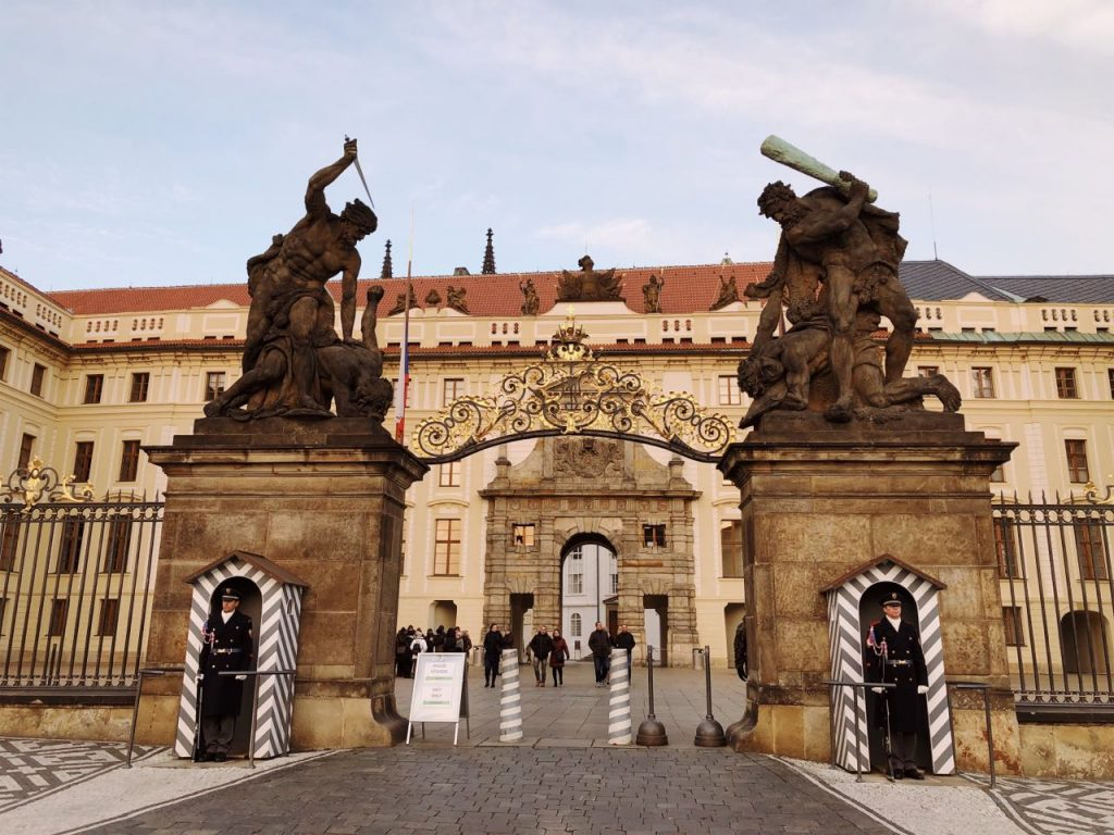 Entrance of Prague castle