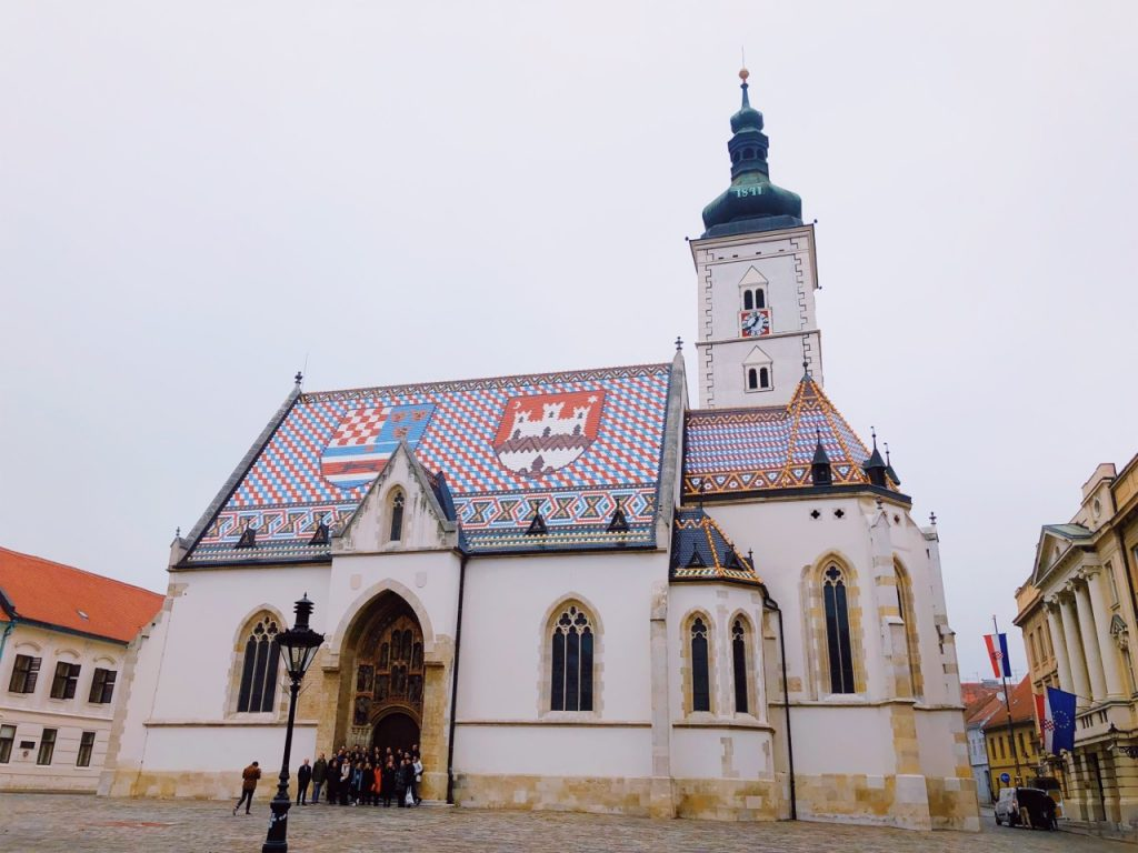 Saint Mark's church in Zagreb, cCoatia