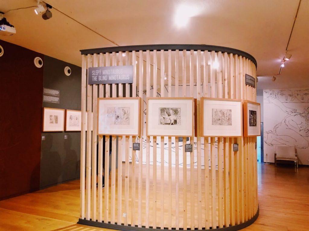 Kampa Museum in Prague from inside