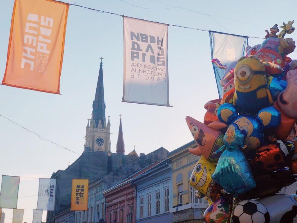Balloons in Novi Sad