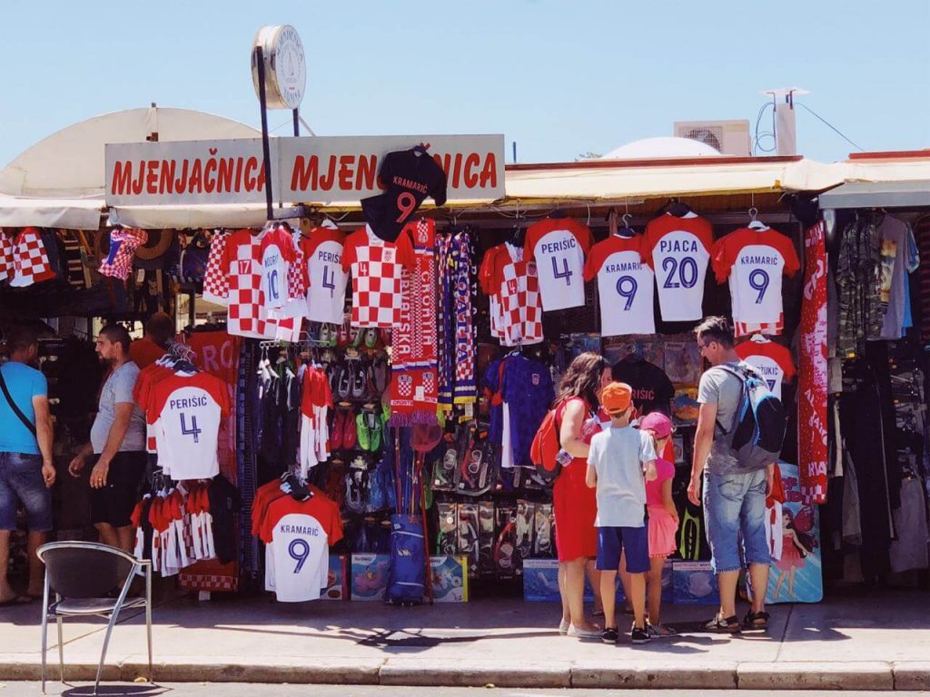Everyone went crazy over the Croatian national team shirts in 2018