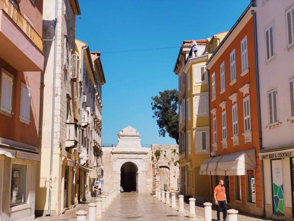 The Sea Gate in Zadar