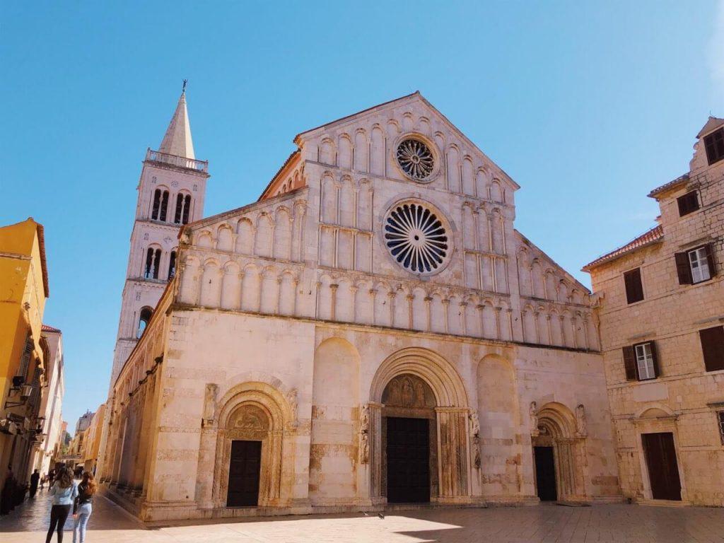 Zadar cathedral St. Anastasia