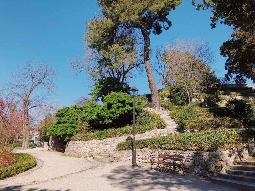 Park in Zadar, Croatia