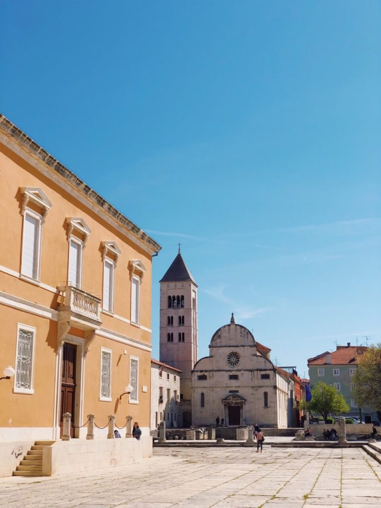 St. Mary church in Zadar