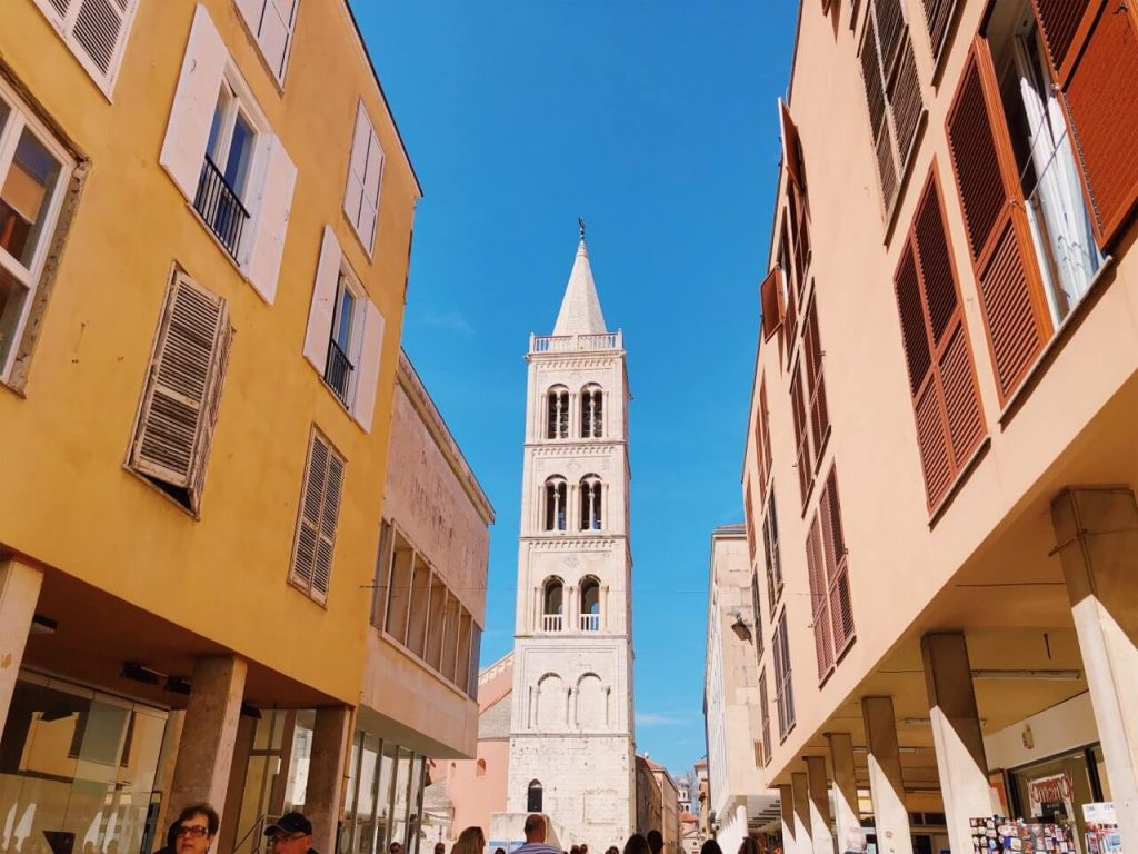 Bell tower in Zadar