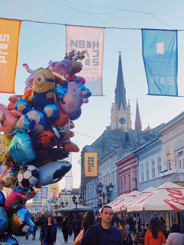 Balloons for children in Novi Sad