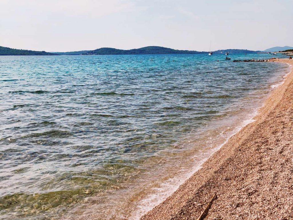 Beautiful beach in Croatia