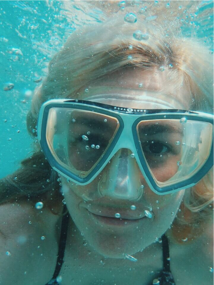 Underwater pic took in Croatia