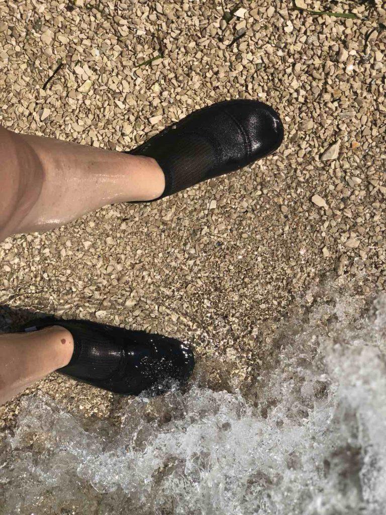 Aqua shoes in Croatia
