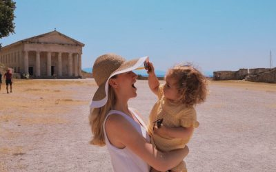Visiting Corfu with children