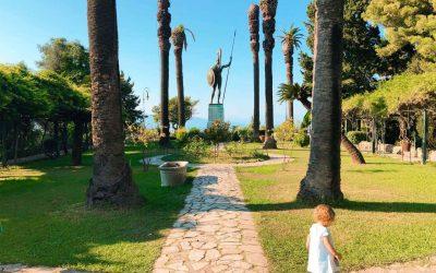 Visiting Corfu with children