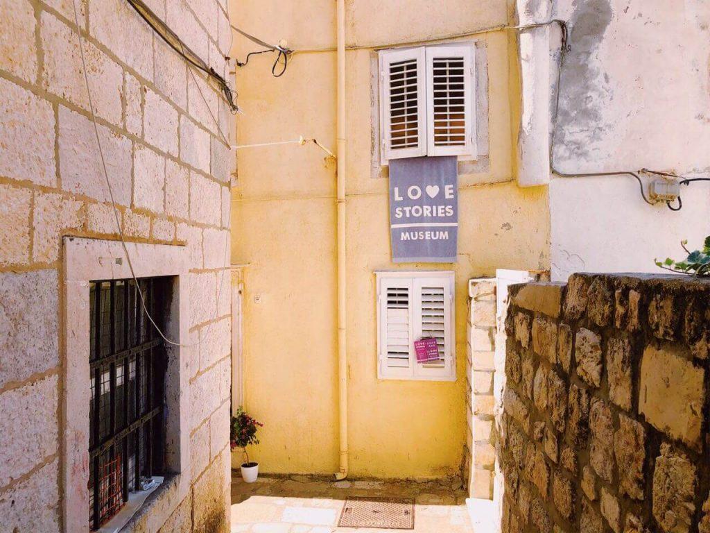 Love Stories Museum in Dubrovnik