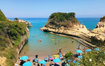 Discover the unique beaches of Corfu