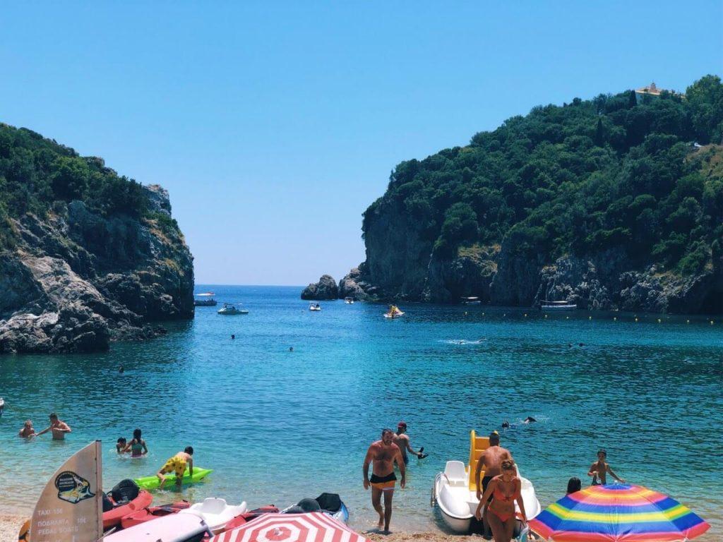 Agios Spiridon beach