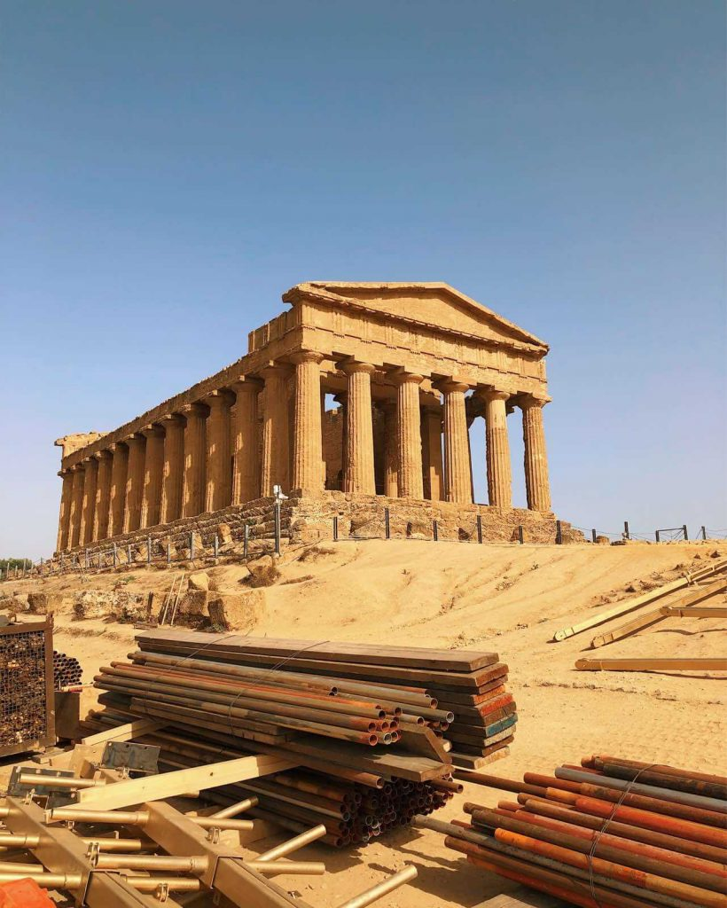 The Temple of Concordia