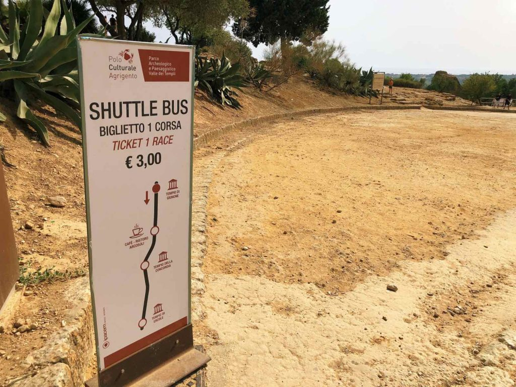 Shuttle bus at the valley explained