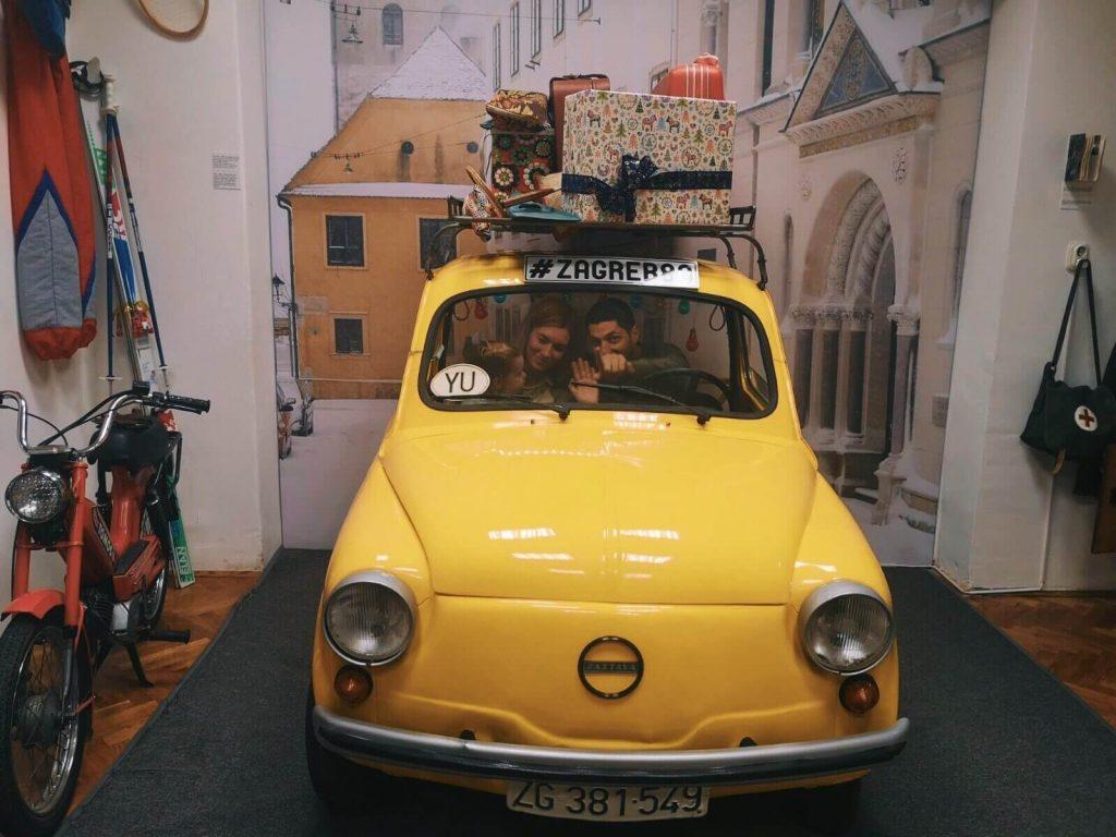 Car in 80s Museum, Zagreb