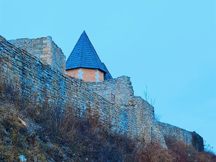 A fortress in Medvednica