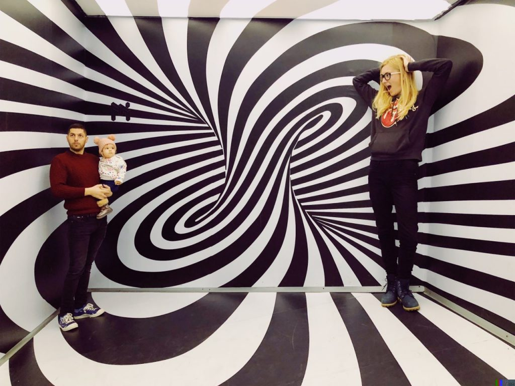 It is always fun to visit the Museum of Illusions