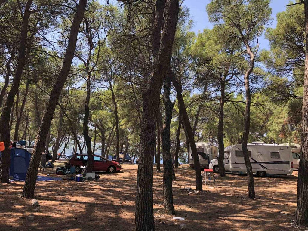 camping travel idea