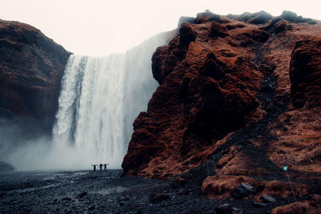 Iceland travel idea