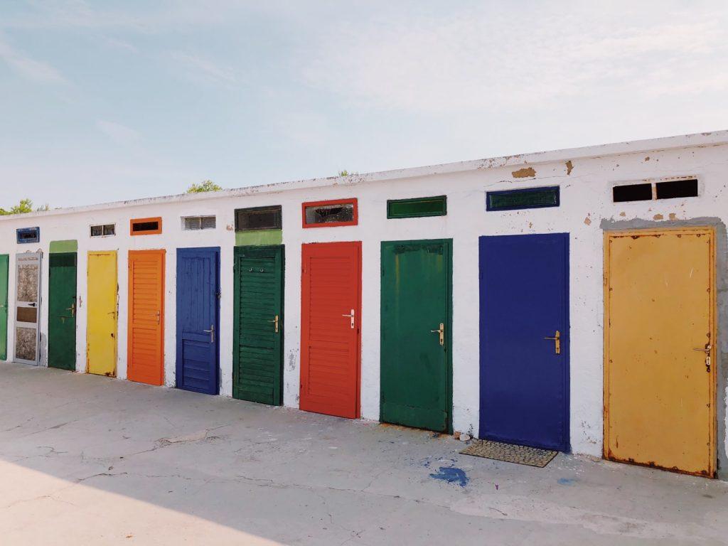 Jadrija beach, Sibenik